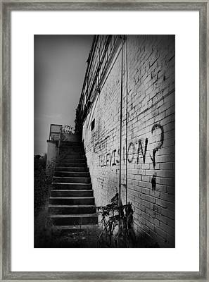 Framed Print featuring the photograph Staircase I by Kelly Hazel