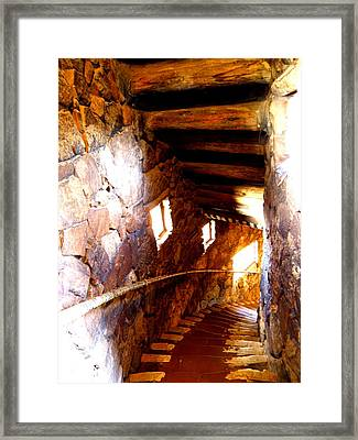 Stairs 1 Framed Print by Tanya  Searcy