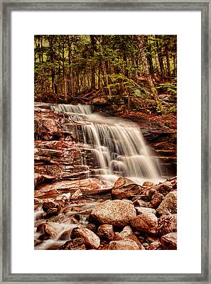 Stairs Falls Framed Print by Heather Applegate