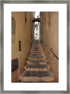 Stairs Italian Framed Print by Ryszard Unton