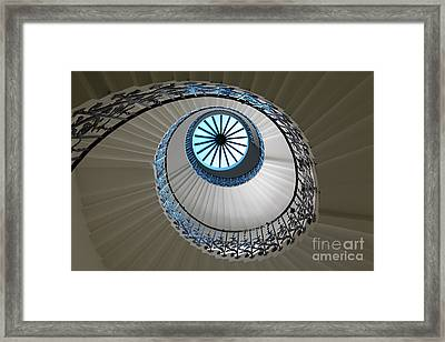 Framed Print featuring the photograph Stairs by Milena Boeva