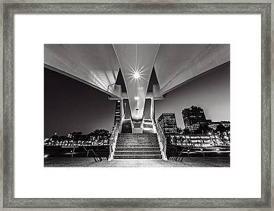 Stairs Of Art Framed Print by CJ Schmit