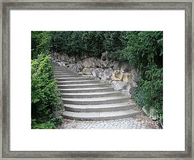 Stairs To Happiness Framed Print
