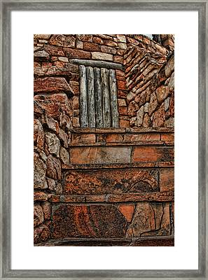 Stairsto Nowhere Framed Print