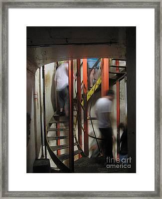 Stairway To Diamondhead Framed Print by Joe Finney