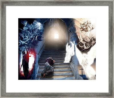 Stairway To Heaven Framed Print by Bill Stephens