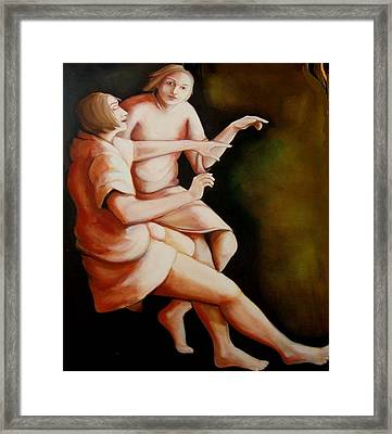 Framed Print featuring the painting Stairway To Heaven by Irena Mohr
