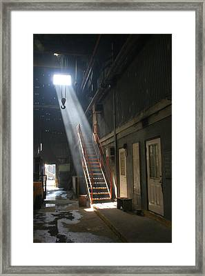 Stairway To Heaven Framed Print by Ronald Olivier