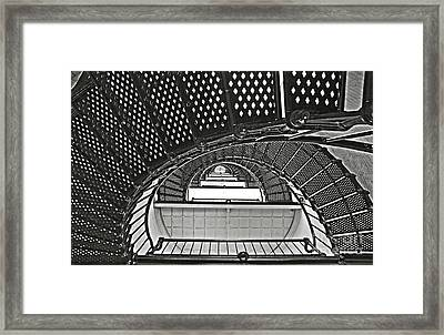 Stairway To Light Framed Print