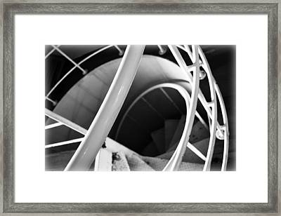Stairway To Nowhere Framed Print by Kevin Lilly