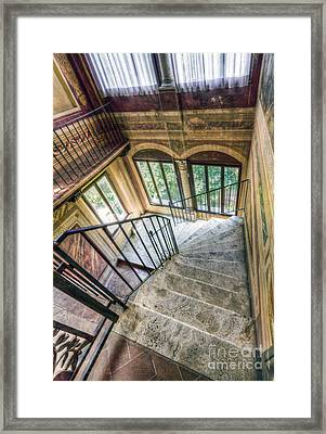 Stairways Framed Print by Andreas Jancso
