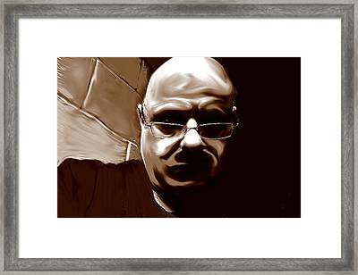 Framed Print featuring the mixed media Stalker IIi  by Terence Morrissey