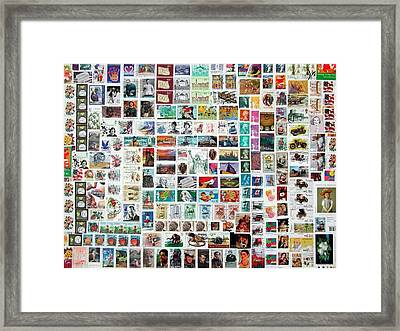 Stamparely Framed Print