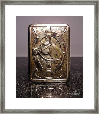 Stampings 19 Framed Print by Dwight Goss