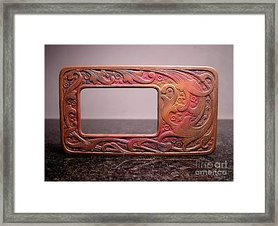 Stampings 26 Framed Print by Dwight Goss