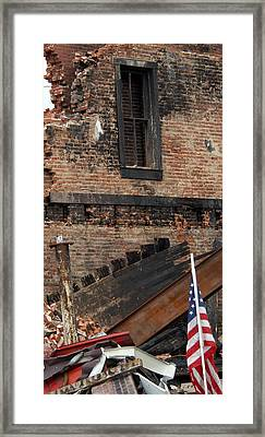 Framed Print featuring the photograph Stand By Me by Wanda Brandon