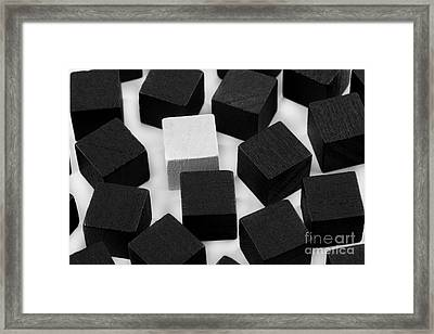 Stand Out From The Crowd Framed Print by Simon Bratt Photography LRPS