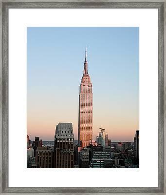 Standing Alone Framed Print by Jeff Mueller