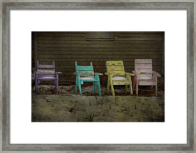 Standing For All Colours  Framed Print by Empty Wall