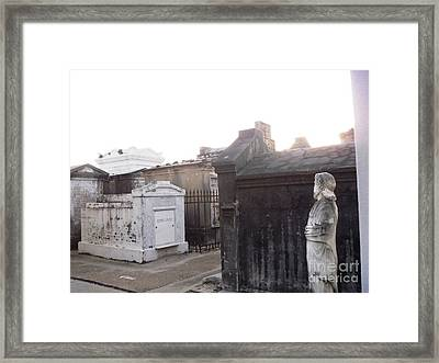 Framed Print featuring the photograph Standing Guard by Alys Caviness-Gober