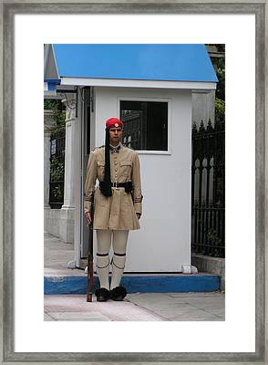 Standing Guard Framed Print