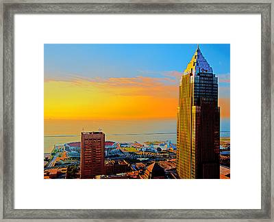 Standing In The Light Framed Print