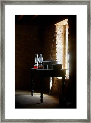 Framed Print featuring the photograph Standing In The Shadow Of Time by Vicki Pelham