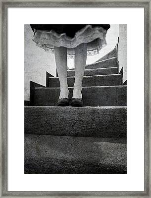 Standing Framed Print by Laura Melis