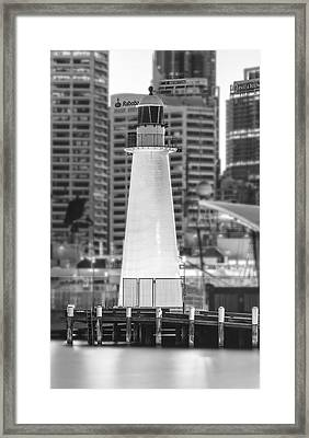 Standing Out Framed Print by Mark Lucey