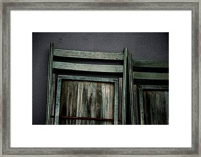Standing Room Framed Print