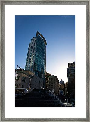 Framed Print featuring the photograph Standing Tall by JM Photography