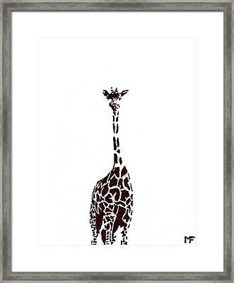 Standing Tall Framed Print by Matthew Formeller