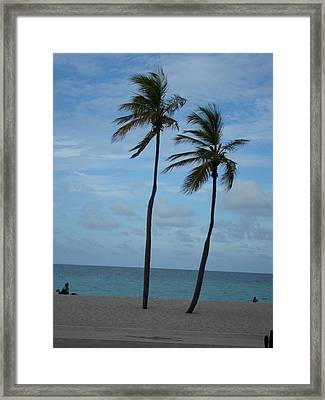 Standing Tall Framed Print by Val Oconnor