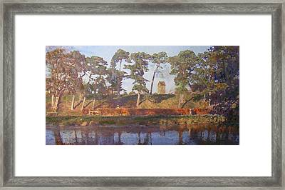 Standrewstower From Haylodge Park Framed Print by Richard James Digance