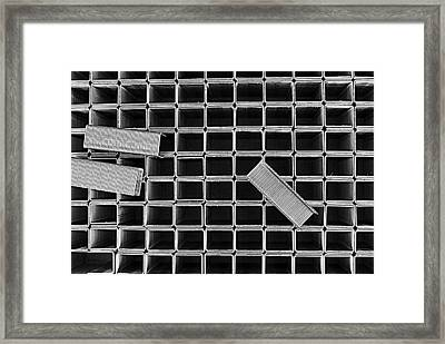 Staples Framed Print
