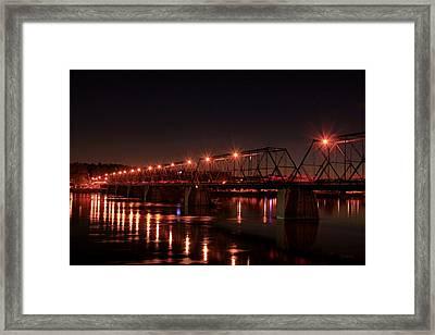 Star Bridge Framed Print