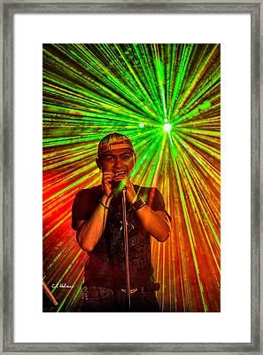 Star Burst Framed Print by Christopher Holmes