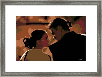 Star Crossed Lovers Framed Print