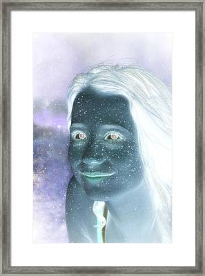 Star Freckles Framed Print