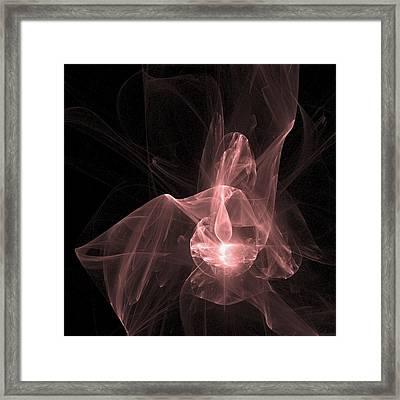 Star Goddess Framed Print by Nicole Grattan