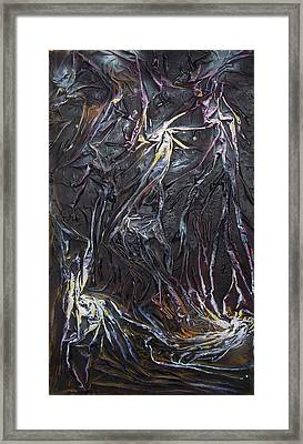 Star Miners Framed Print by Angela Stout
