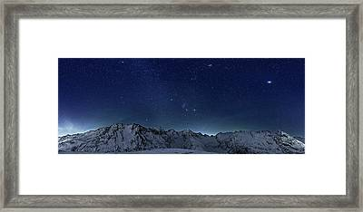 Star Panorama Framed Print by RICOWde