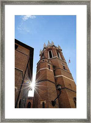 Star Shines Through It Framed Print by