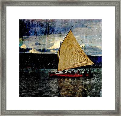 Framed Print featuring the photograph Star Ship by Michele Cornelius