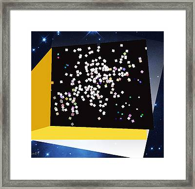 Star Watch Framed Print by Asok Mukhopadhyay