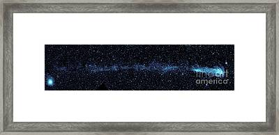 Star With Tail Framed Print