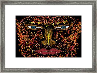 Stare Framed Print by Mark Stidham