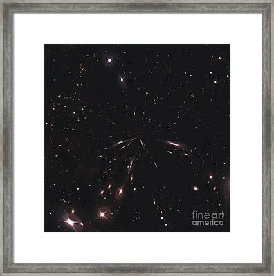 Starfield Framed Print by Stocktrek Images