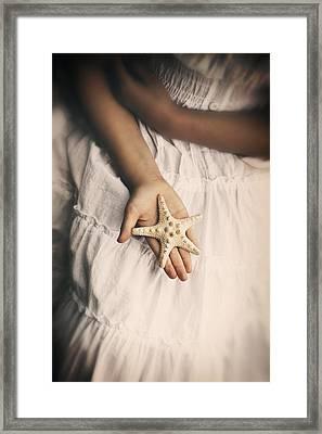 Starfish Framed Print by Joana Kruse