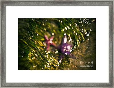 Starfish Swirl Framed Print by Venetta Archer